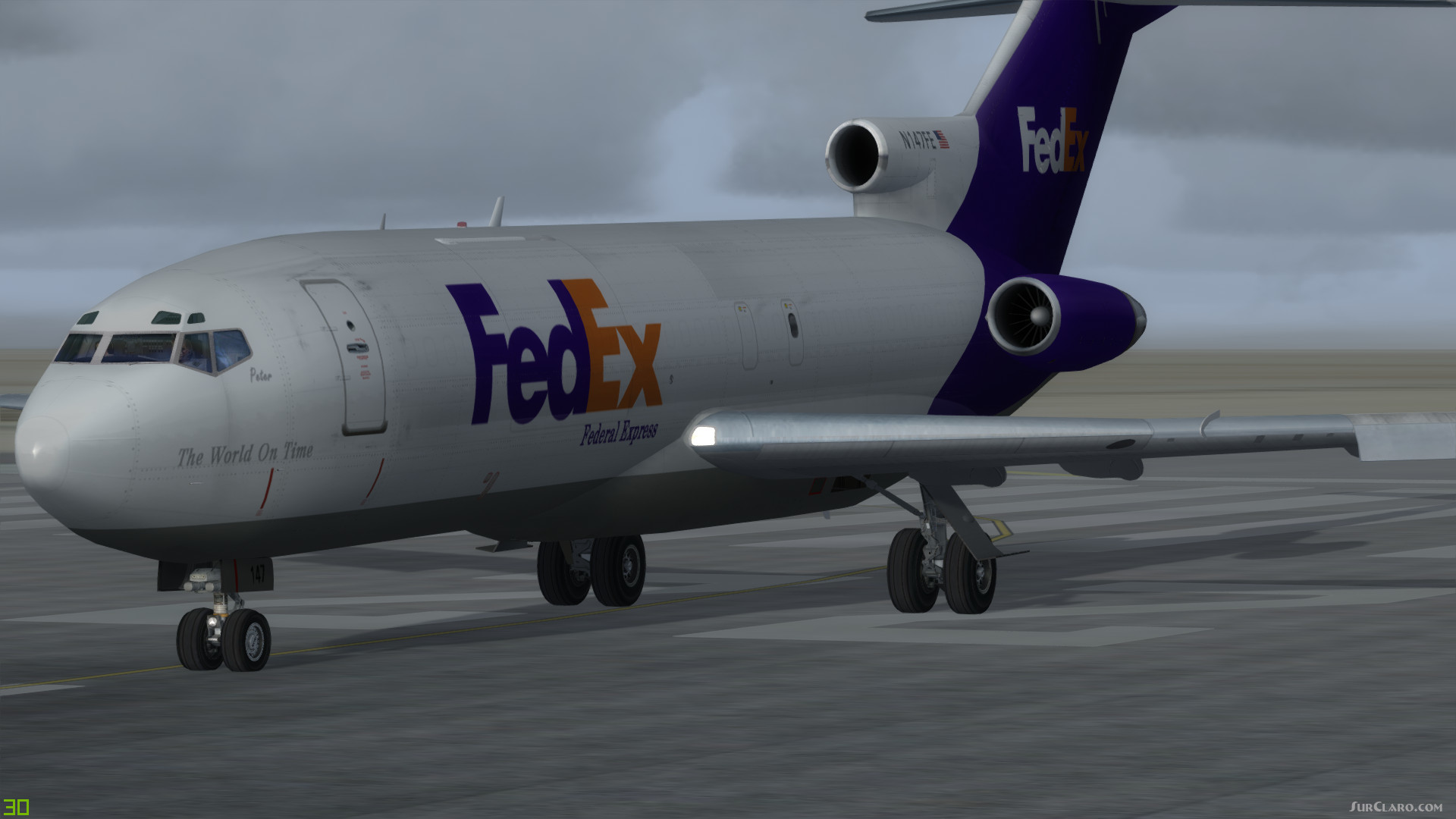 FSX P3D Boeing 727-100F Freighters Pack Aircraft