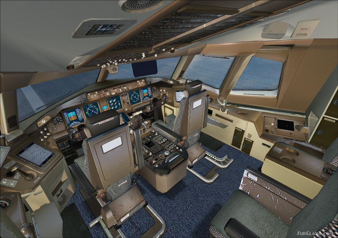 FSX Boeing 777 Panel Posky