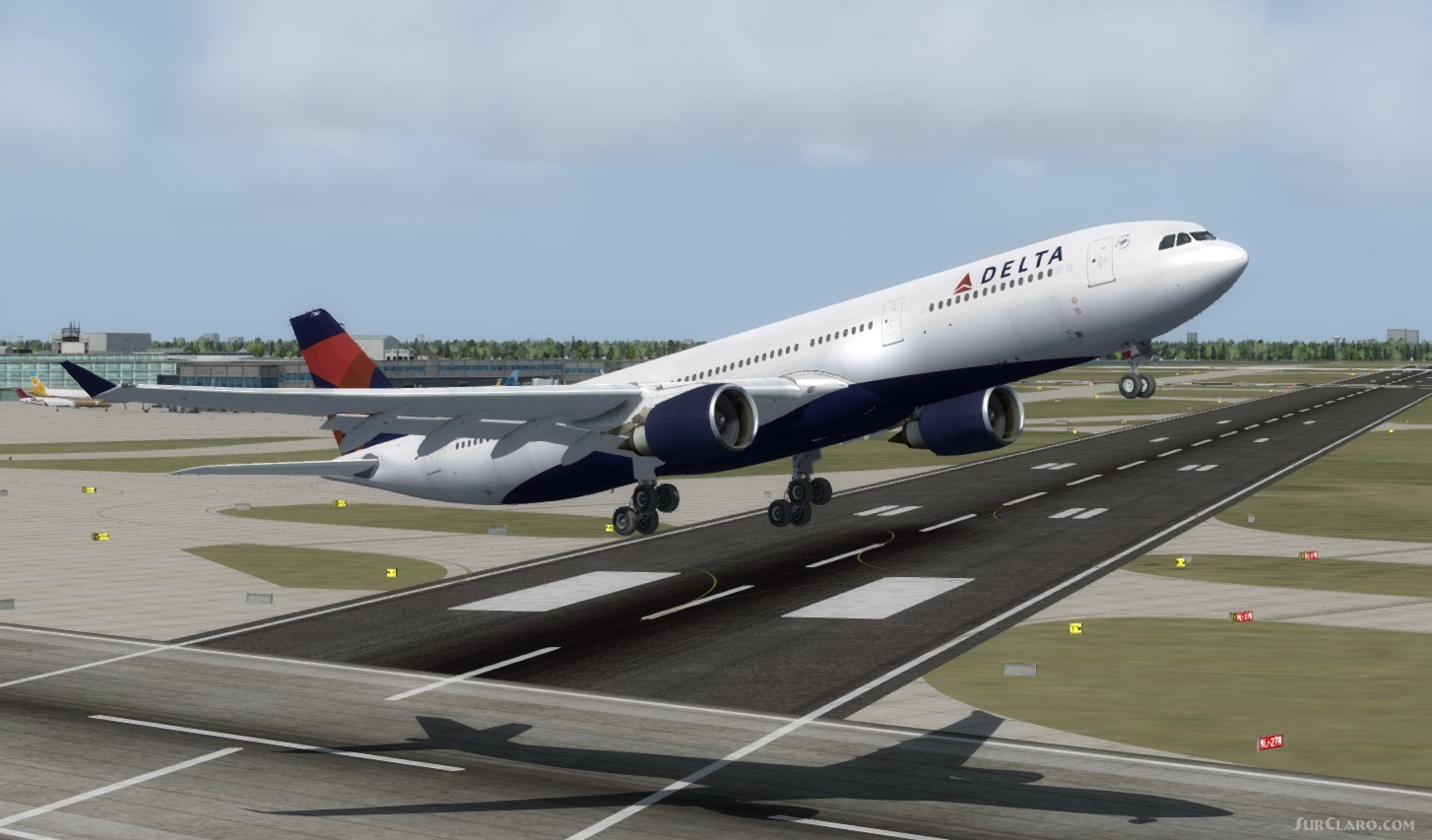 FSX P3D Airbus A330-300 Delta Airlines Package V2 Aircraft