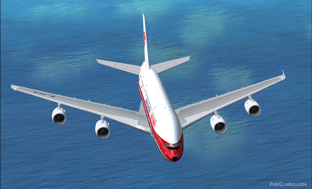 FSX A380-800 China Eastern Airlines B-6119 Aircraft