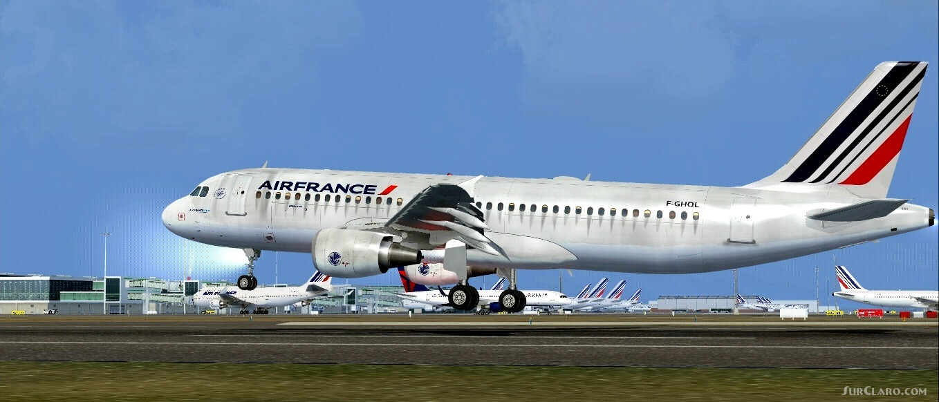 FSX Airbus A320-200 CFM Air France Aircraft