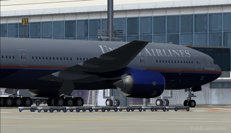 FS2004 United Airlines Boeing 777-200 Wonderful FSPainter V3