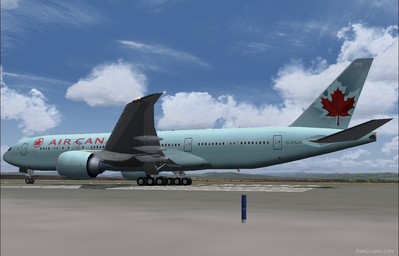 fsx fs2004 air canada boeing 777 aircraft. Black Bedroom Furniture Sets. Home Design Ideas