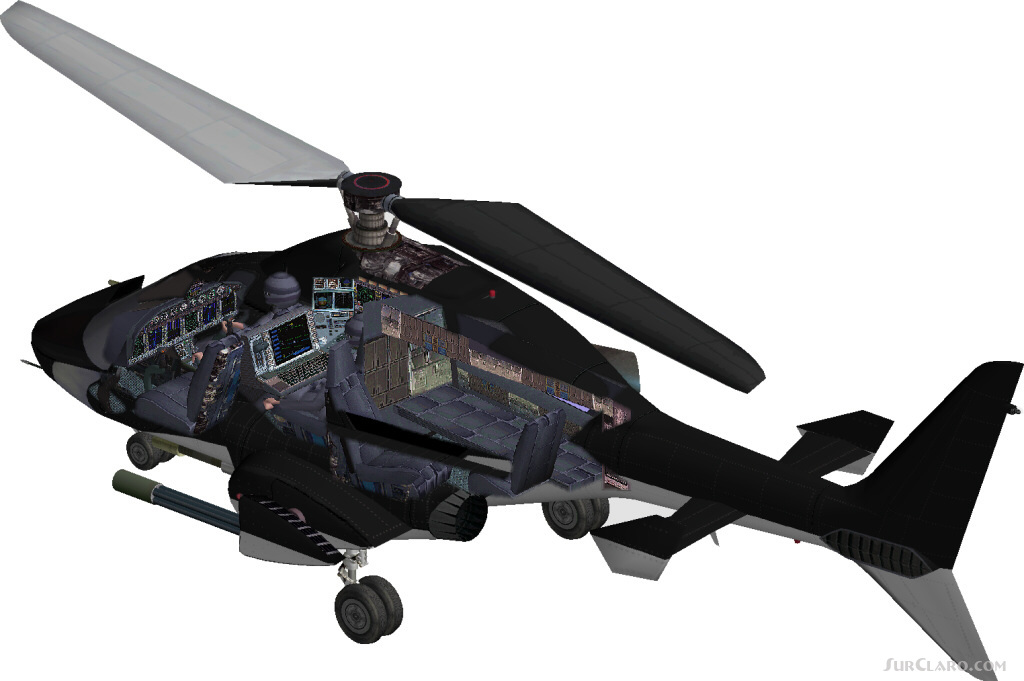FS2004 Helicopter AIRWOLF Lufthansa Helicopters