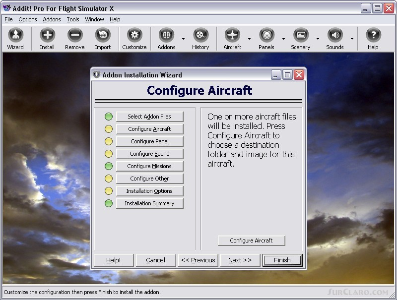FSX Addon Manager Utility V7 5 8 Addit! Pro P3D Utilities