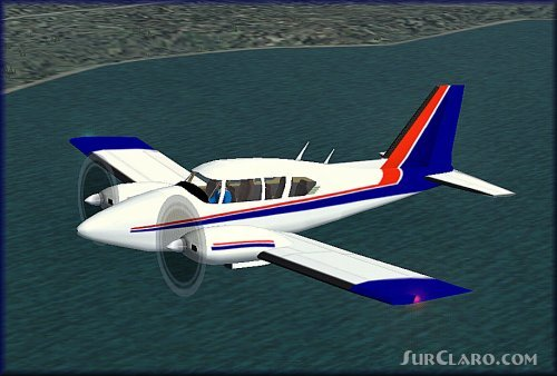 FS2004 Piper Aztec E Model And NOMAD Package A Stable 13