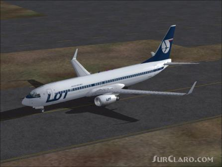 FS2004 POSKY BOEING 737-800 With Virtual Cockpit Airliners