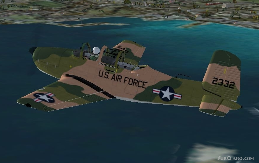 FSX Beechcraft T-34 Mentor Alpha Sims Freeware Release Military