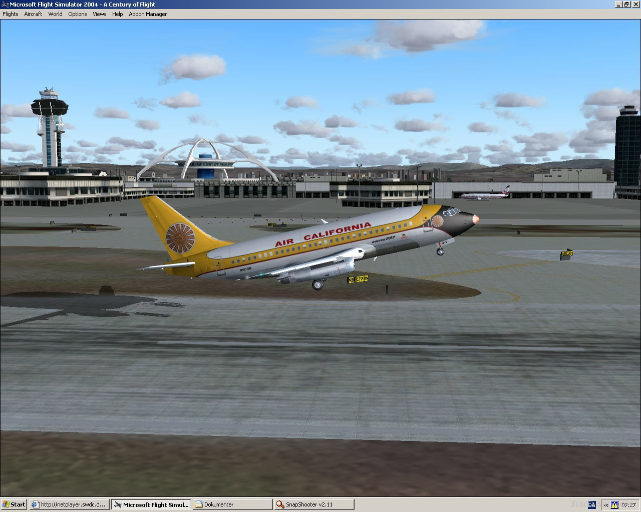 FSX FFX Boeing 737-200 Air California 1970 Model Erick Cantu