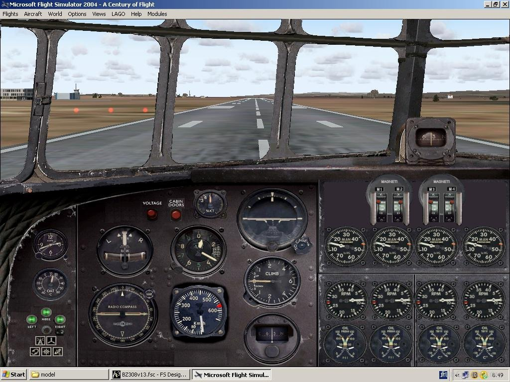FS2004 A Full Bundle Aircraft And Panel Work FS2002 Vintage