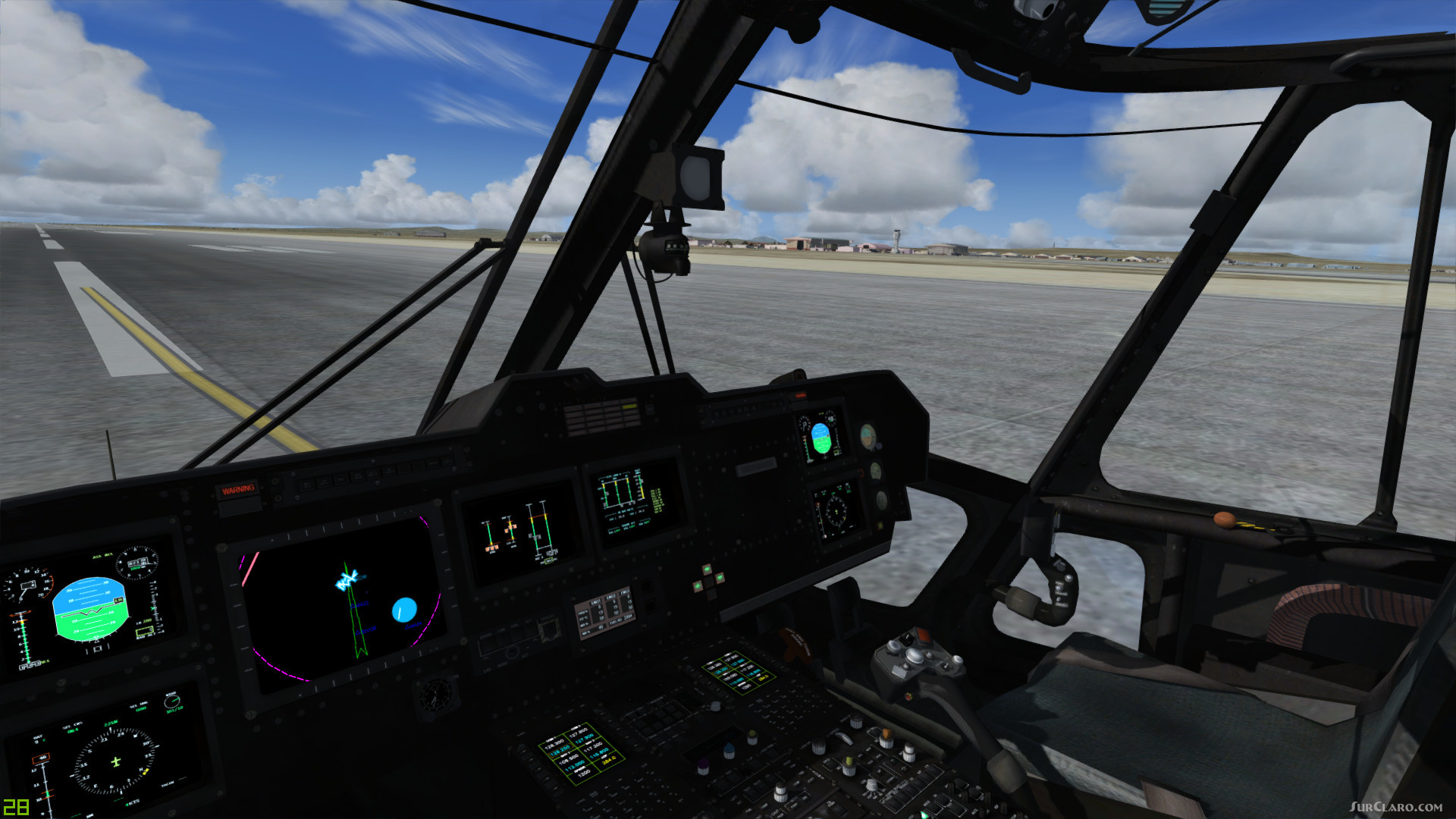 FSX P3D Sikorsky CH-53 Super Stallion Helicopter