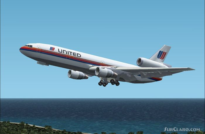 FS2002 United Airlines Dc-10 Colors Airliner aircraft