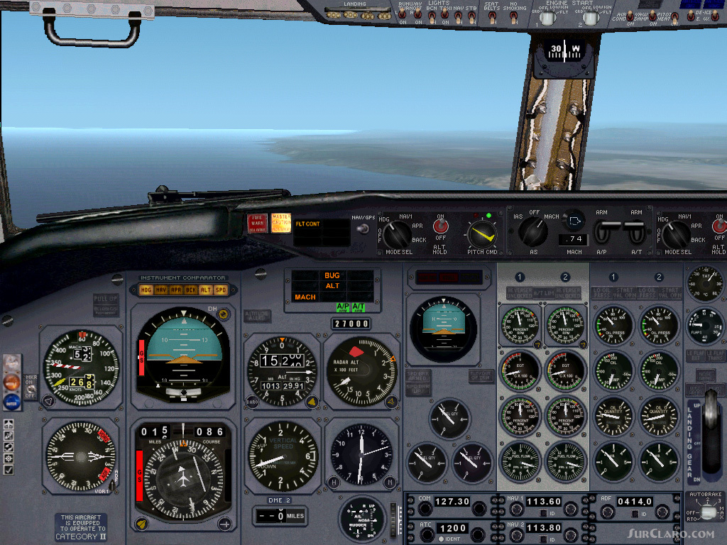 FS2002 Boeing 737-200 Panel Ver 2 Exclusively Fabrizio