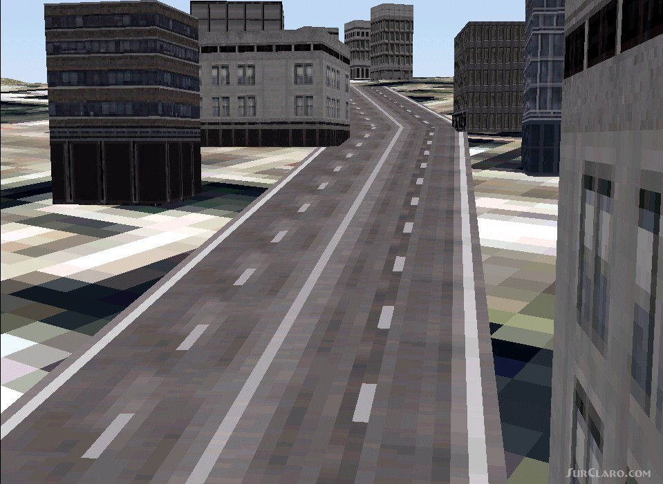 FS2002 FS2000 Major Road And Minor Textures Replacement
