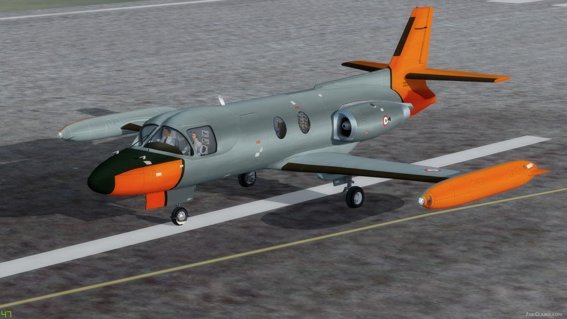 FSX P3D Piaggio PD-808RM & Base Pack General aviation Jet
