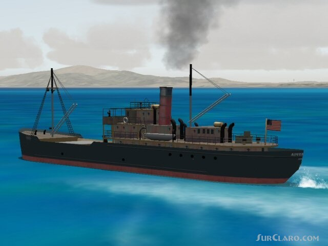 FSX SS ADVENTURE A 1930s Tramp Steamer Pilotable missions