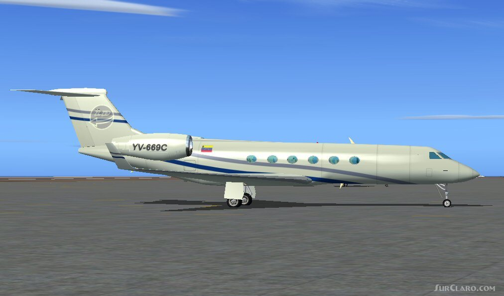 FS2004 Gulfstream GV Version 1 2 LiderDesigns Freeware