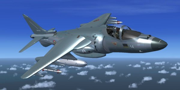 FSX Harrier VTOL Hover Sigma Iris Military aircraft
