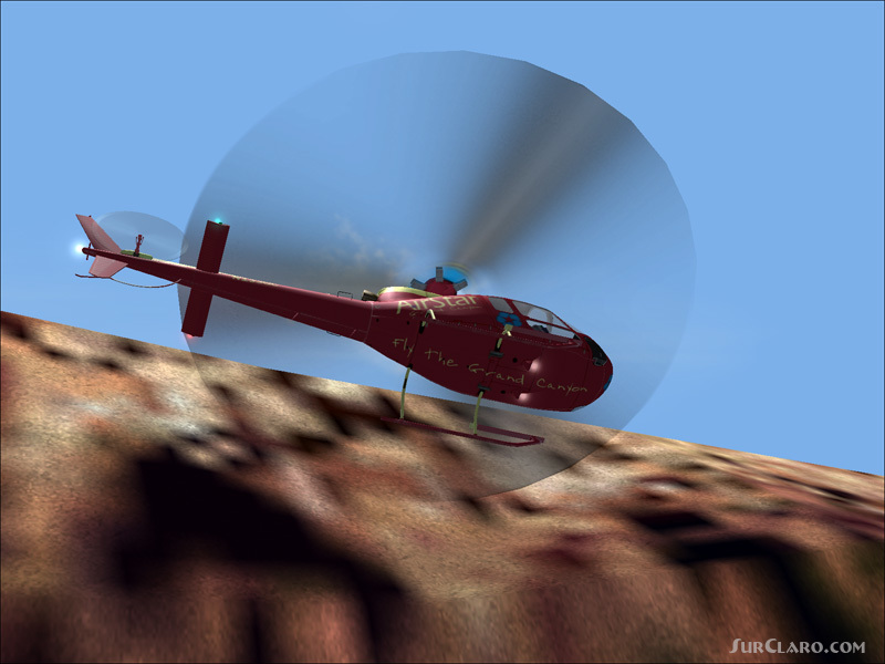 FS2004 GMAX As350 Ecureuil FS9 Textures Repaint Helicopters