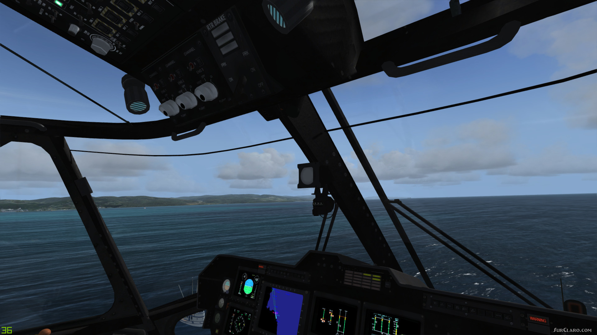 FSX P3D Sikorsky MH-53 Pavelow Helicopter