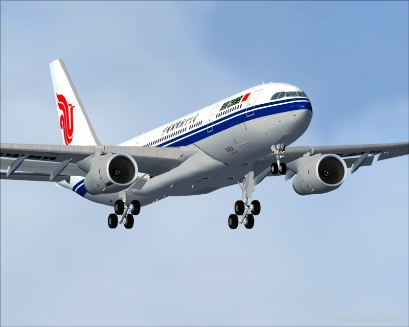 FS2004 Project Opensky A330-200RR Air China Livery Airliners