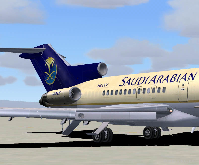 FS2004 Saudi Arabian Airlines Boeing 727-21 Registration