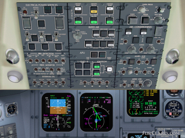 FS2004 FS9 SkyDecks Panel Design Project CRJ Registered