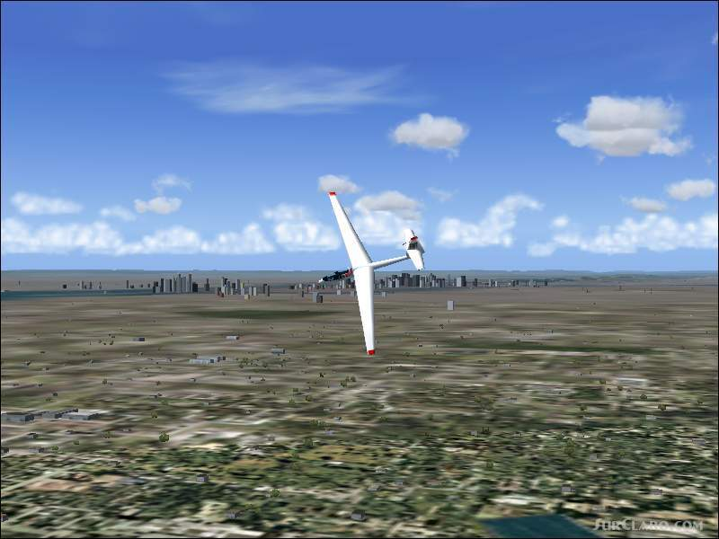 FS2004 New York State USA Soaring Scenery Adds Thermals