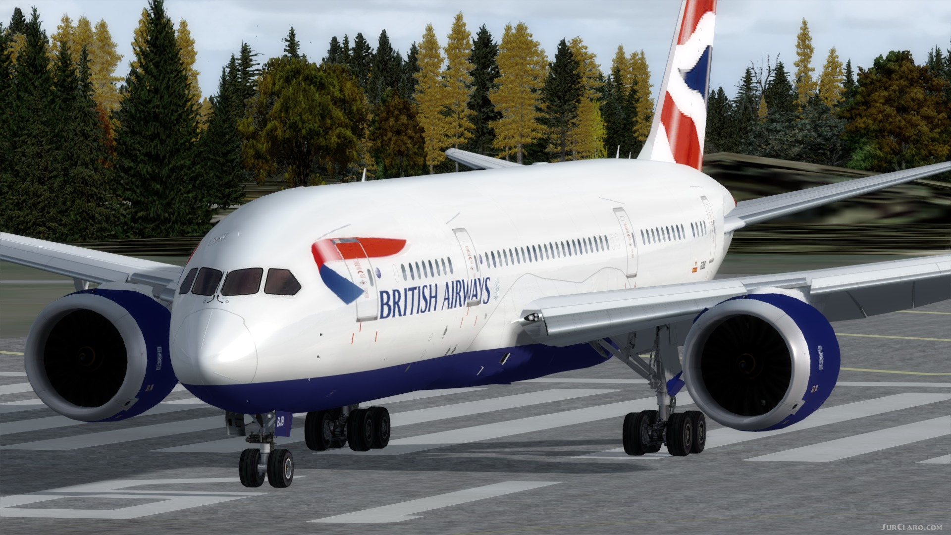 FSX P3D British Airways Boeing 787-800 Package VC Aircraft