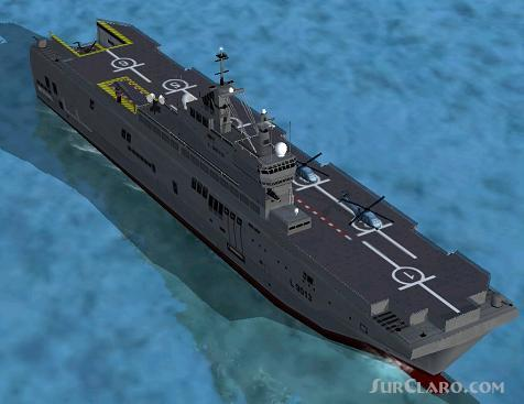 FSX Panel And Cameras French Navy Carriers Mistral Tonnerre