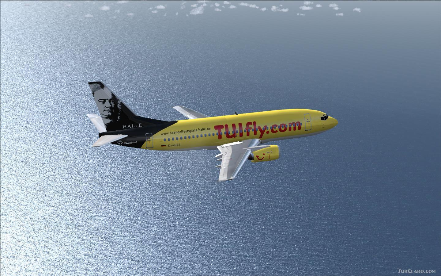 FS2004 FSX TUIfly Boeing 737-300 Airliners
