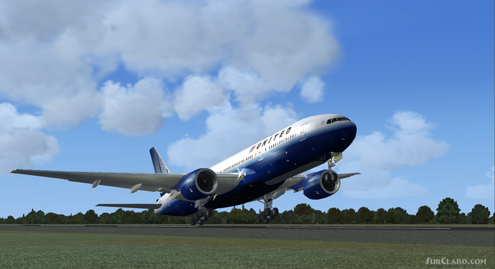Fsx United Boeing 777 Posky Aircraft - Www imagez co