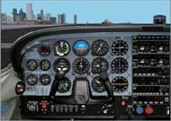 FS2002 Panel - DreamFleet C182 Conversion Files image 1