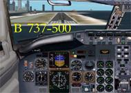 FS2000/2002 Boeing 737-500 Panel layout based image 1