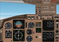 FS2002 B757/B767 Deluxe Panel v5.0 Features image 1