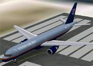 FS2002 Aircraft-United Airlines Boeing 757-200 image 1