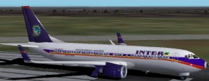 FS2002 B737-800 with panel Part1 Mario image 1