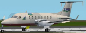 FS2002 Raytheon B1900D Metallic colours LAM image 1