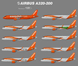 P3D FSX Airbus A320NEO British Airways / Easyjet image 1