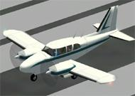 FS2002 PRO Piper PA-23-250 Aztec Textures image 1