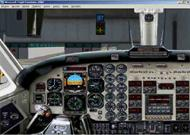 Photoreal panel Beech 1900 image 1