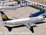 CRONUS Airlines LIVERY TEXTURE TEMPLATE image 1
