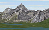 FS2002 Scenery: Grand Tetons South Wyoming image 1