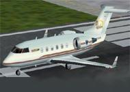 FS2002 Bombardier Challenger 604 INTER image 1