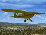 FSX Taylor J-2 Cub 2 seat single engine high image 1