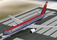 FS2002 Aircraft Northwest Airlines Boeing image 1