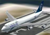 FS2002 Air New Zealand Boeing 747-400 FS2002 image 1