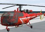 FS2002 Protection Civile Alouette3 version 2 image 1