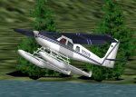 FS2002 Helio Super Courier 295 Float Plane image 1