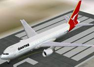 FS2002 PROJECT OPENSKY QANTAS BOEING 767-300 V3 image 1
